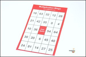 multiplication-bingo