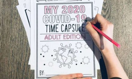 Covid-19 time capsule worksheet activity